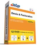 EBP Devis & Facturation DYNAMIC 12 mois 2017 + VIP