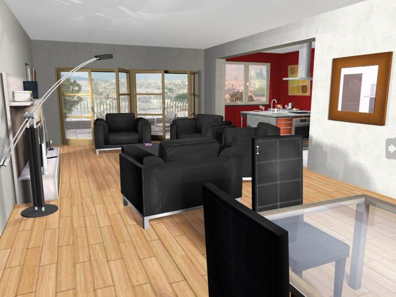 mon interieur 3d rue du commerce. Black Bedroom Furniture Sets. Home Design Ideas